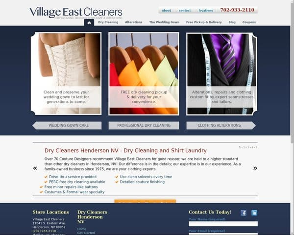 Village Easwt Cleaners