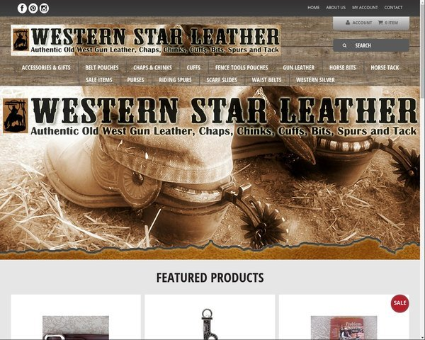 Western Star Leather - Ecommerce